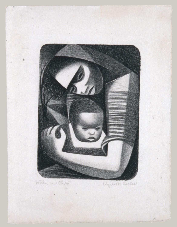 Mother And Child Elizabeth Catlett 1999 529 34 Work Of Art