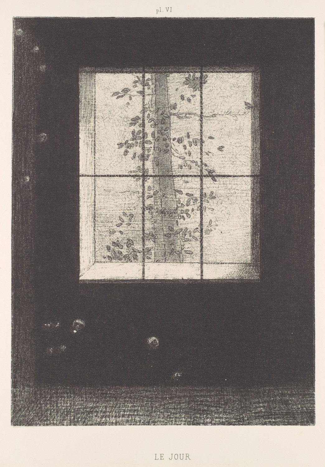 Day (Le Jour), from the series, Dreams (Songes), plate VI