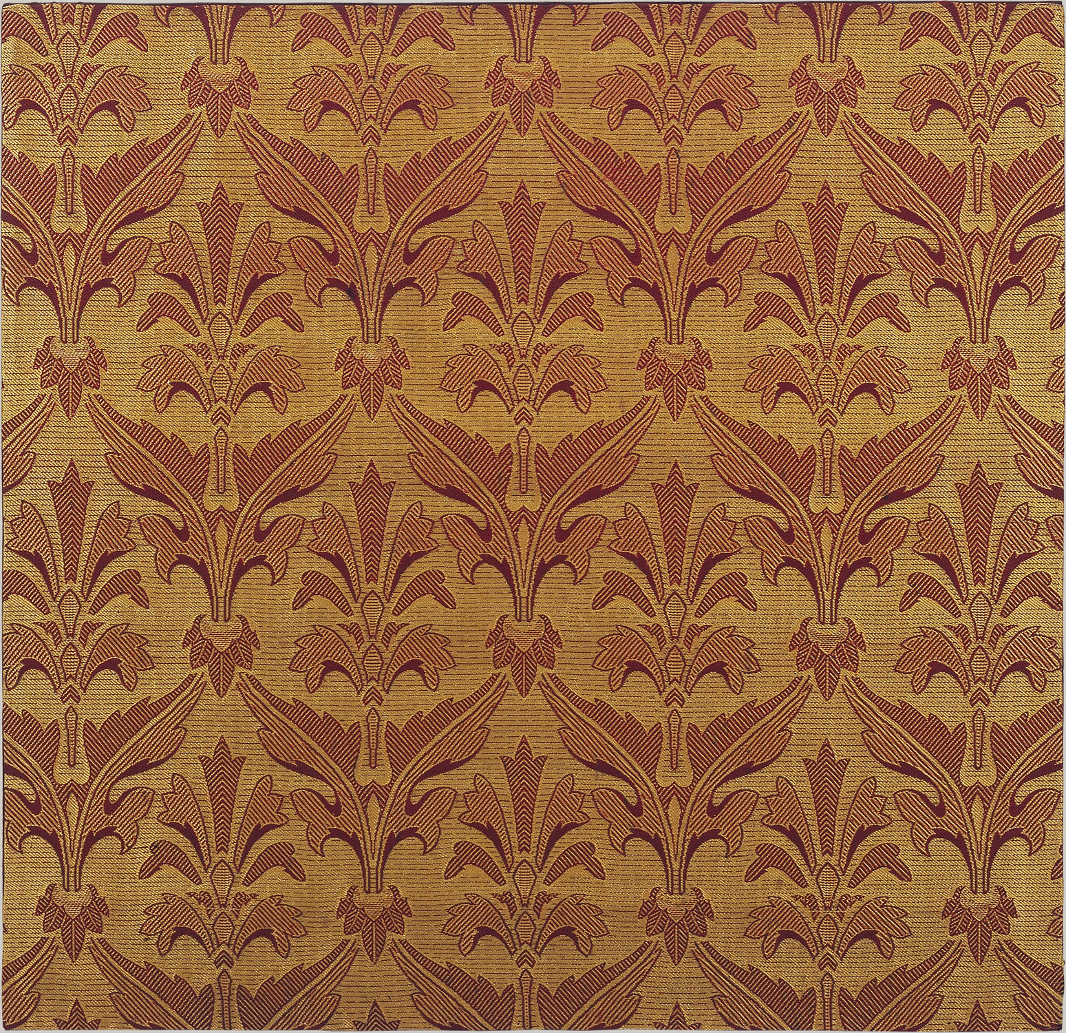 Tudor Style Wallpaper Nineteenth Century European Textile Production Essay