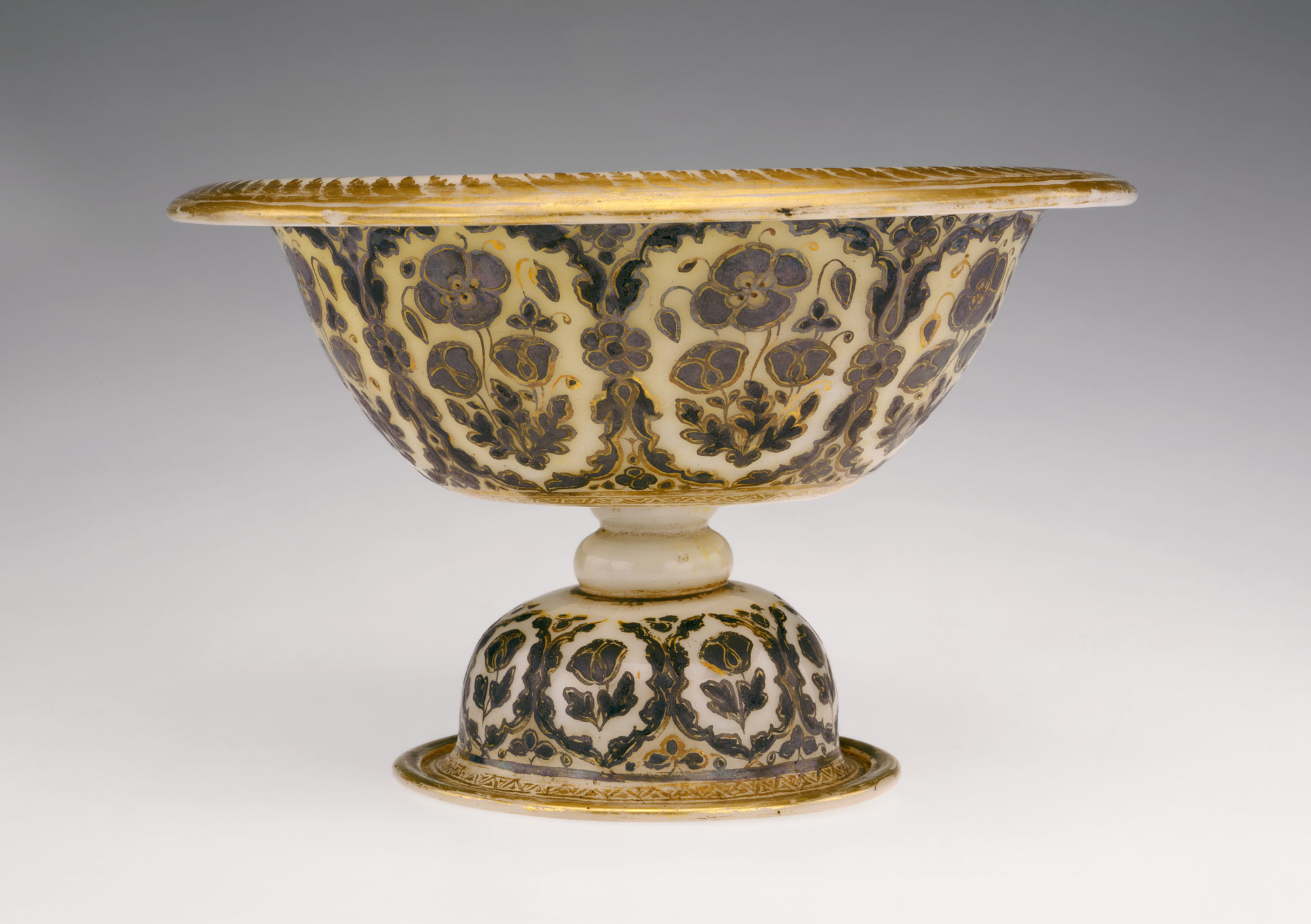 Footed Bowl And Plate Work Of Art Heilbrunn Timeline