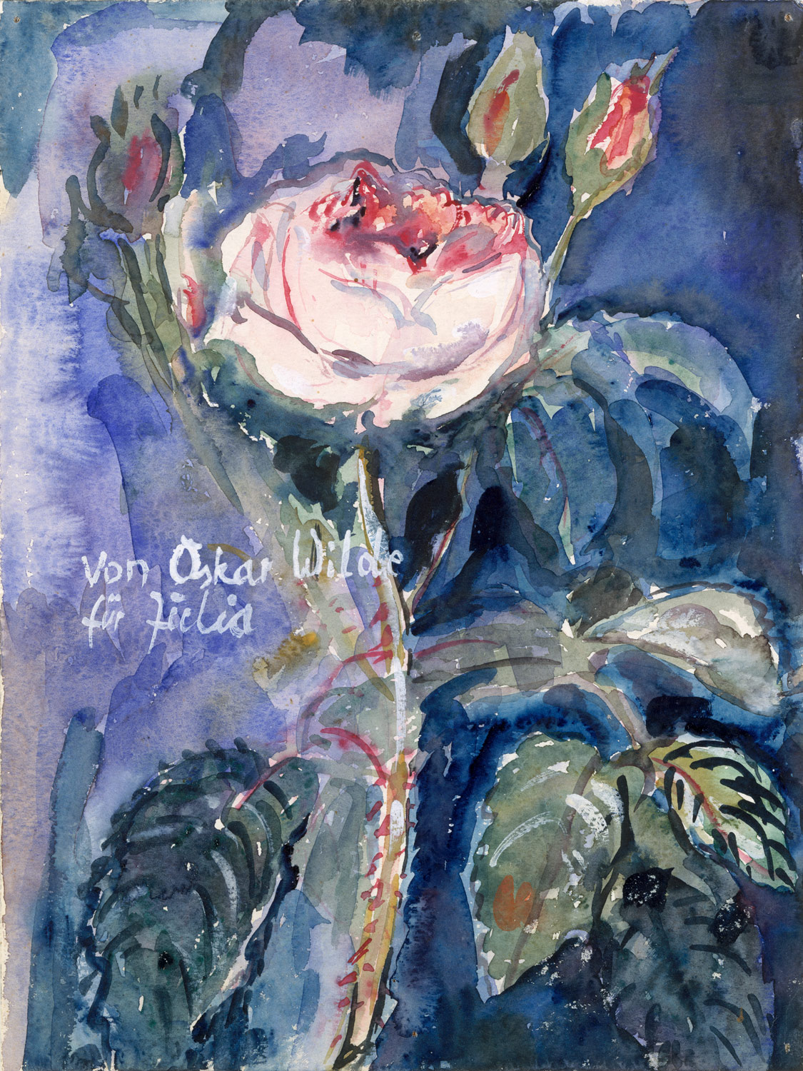 History of watercolor art -  From Oscar Wilde