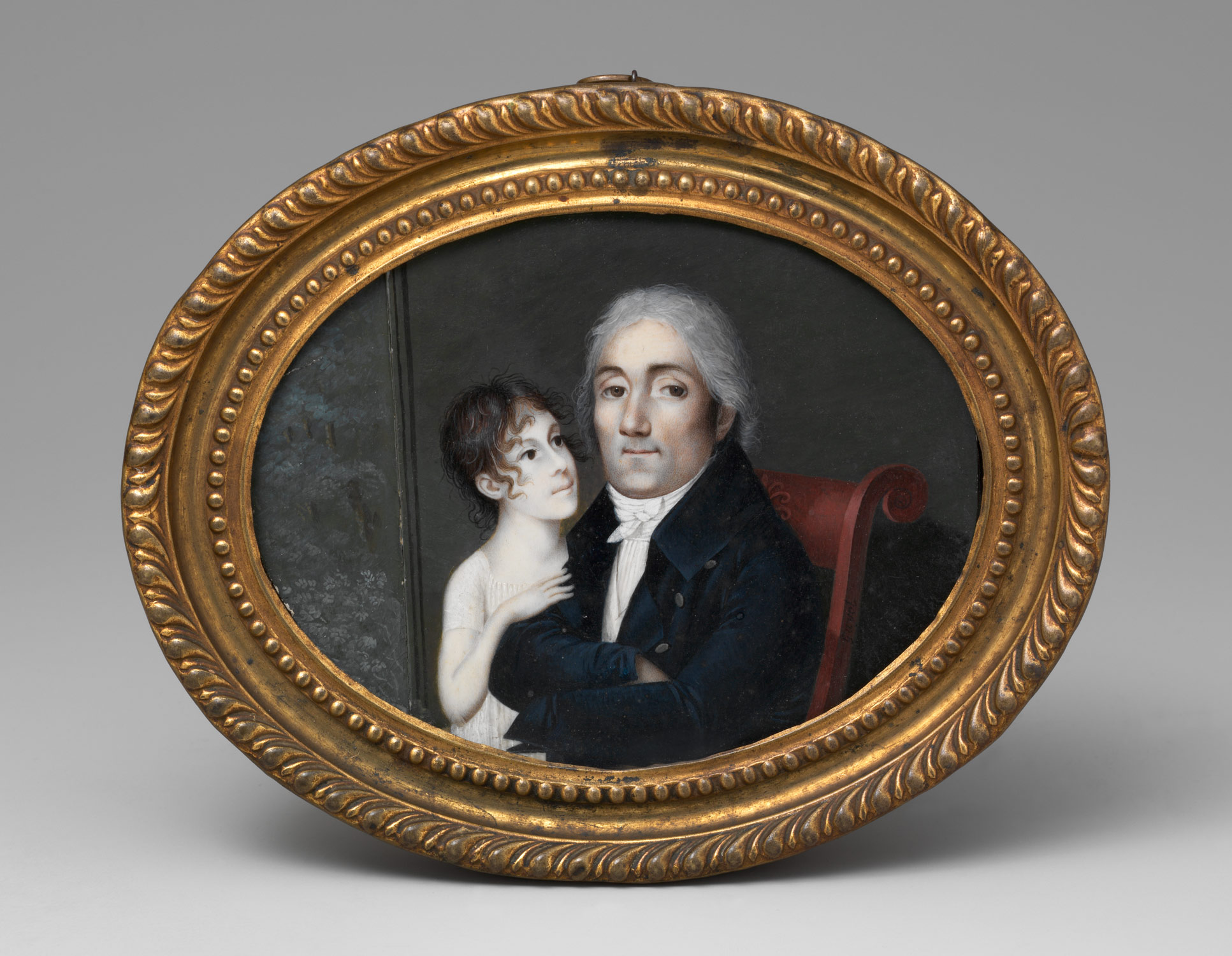 Portrait of a Gentleman and His Daughter