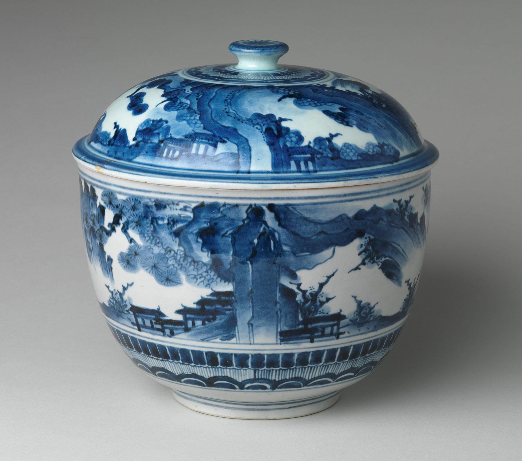 Edo period japanese porcelain essay heilbrunn timeline of art tureen with landscape reviewsmspy