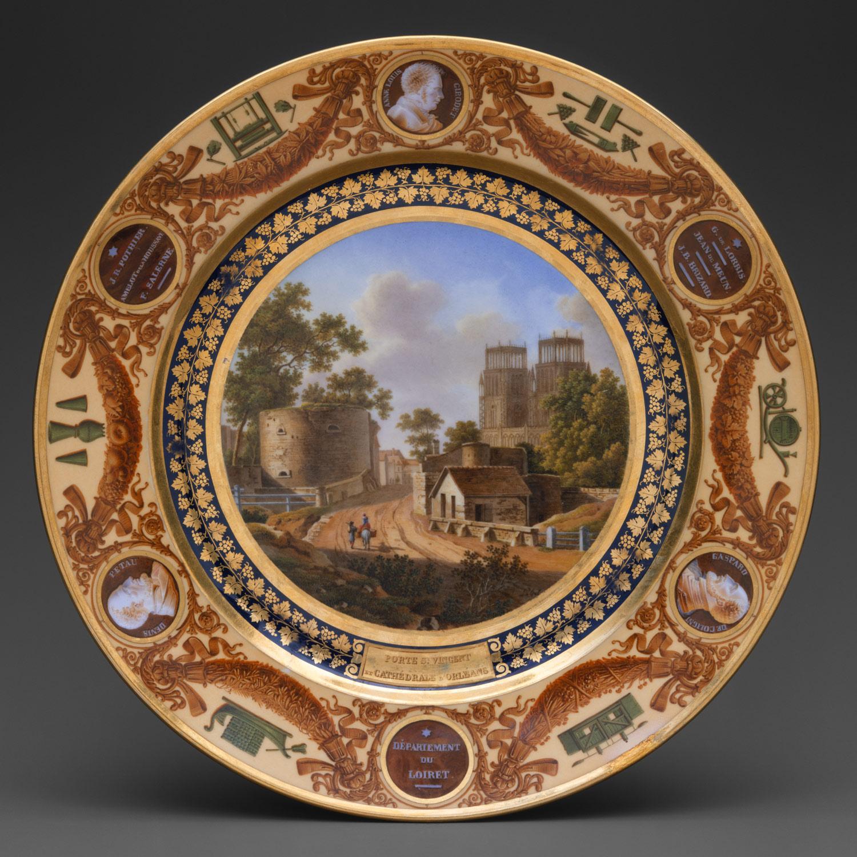... Plate from the Service Des Départements ... & Sèvres Porcelain in the Nineteenth Century   Essay   Heilbrunn ...