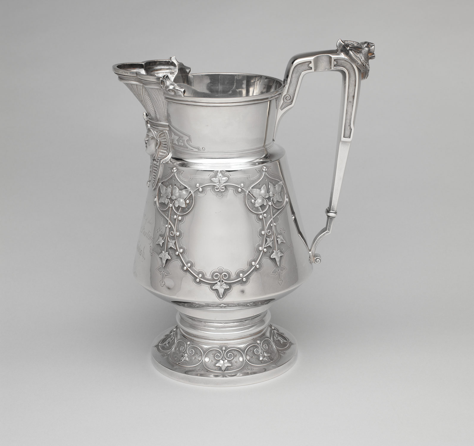Pitcher, retailed by Ball, Black & Co.