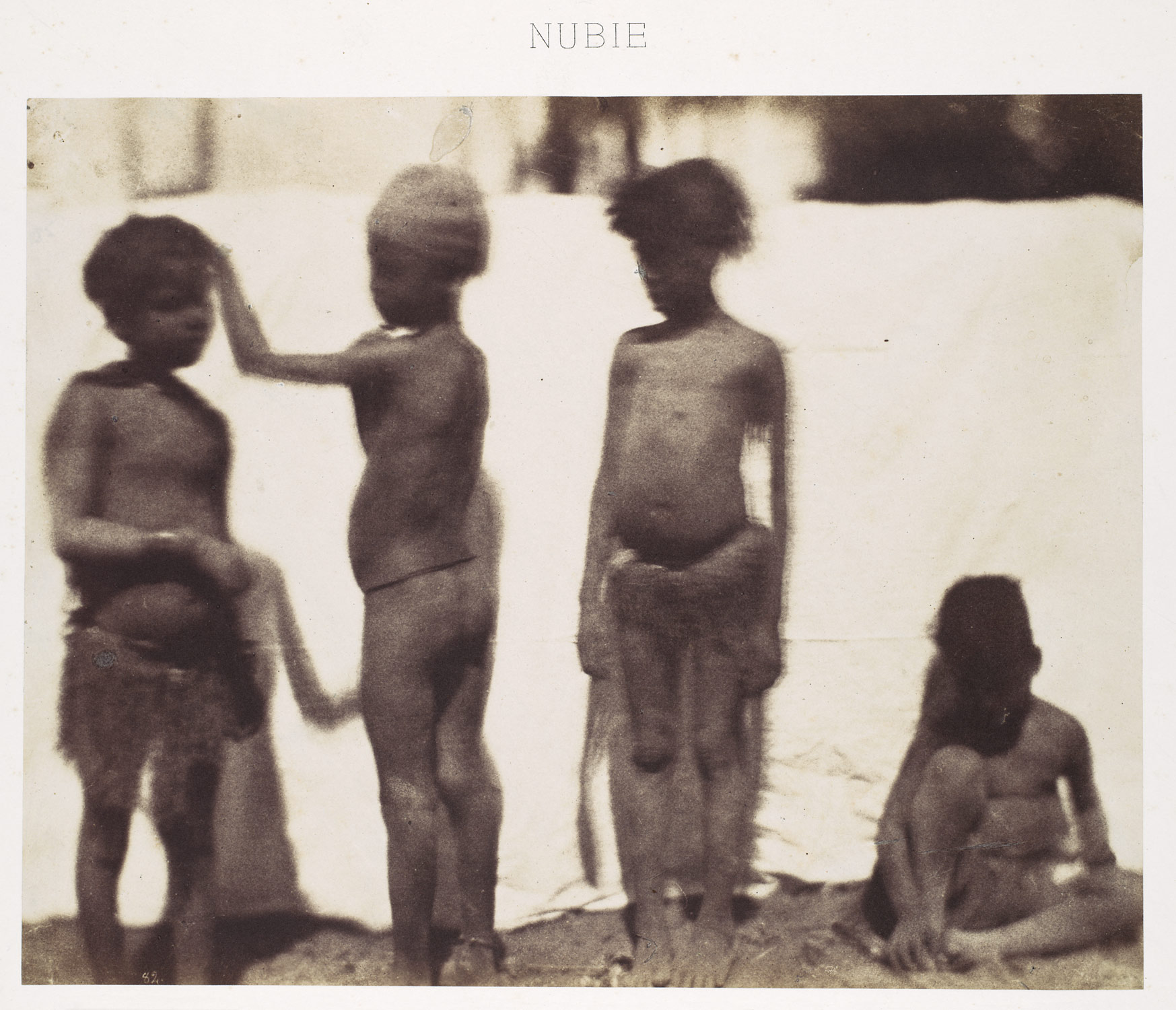[Children from the Village of Kalabshah, Nubia]