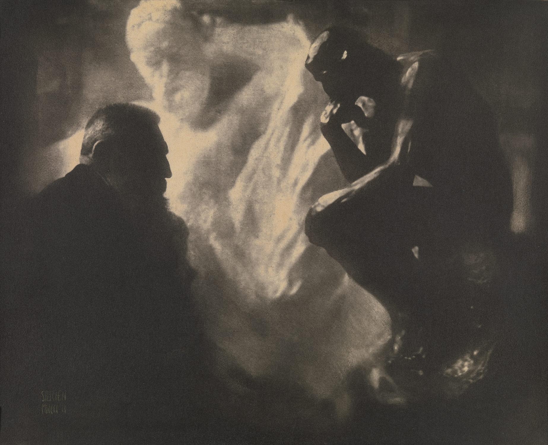 Extreem Rodin—The Thinker | Edward J. Steichen | 2005.100.289 | Work of  &UB87