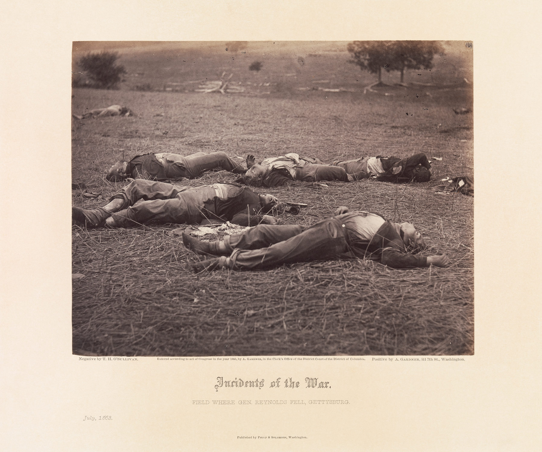 photography and the civil war essay heilbrunn field where general reynolds fell gettysburg