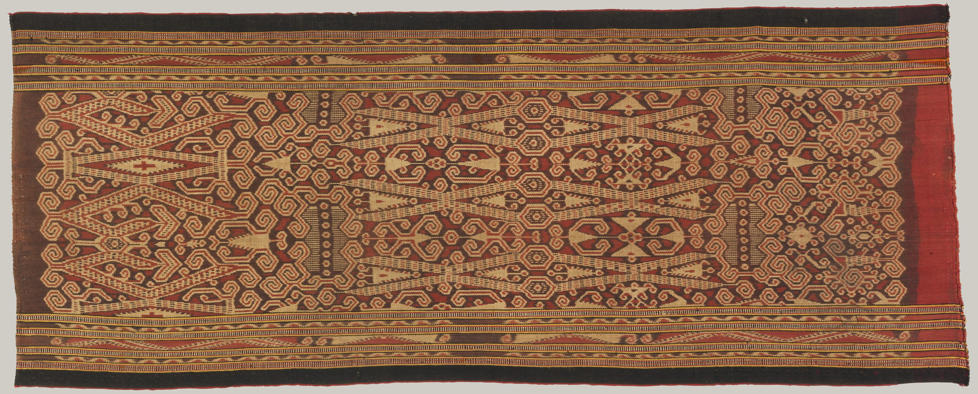 Womans ceremonial skirt (kain kebat)