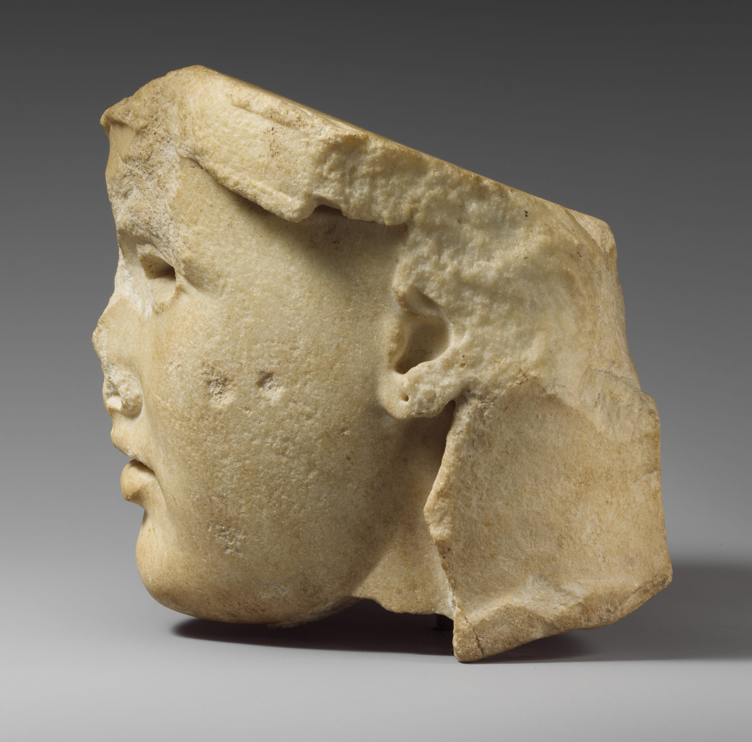 Marble head of Athena: The so-called Athena Medici