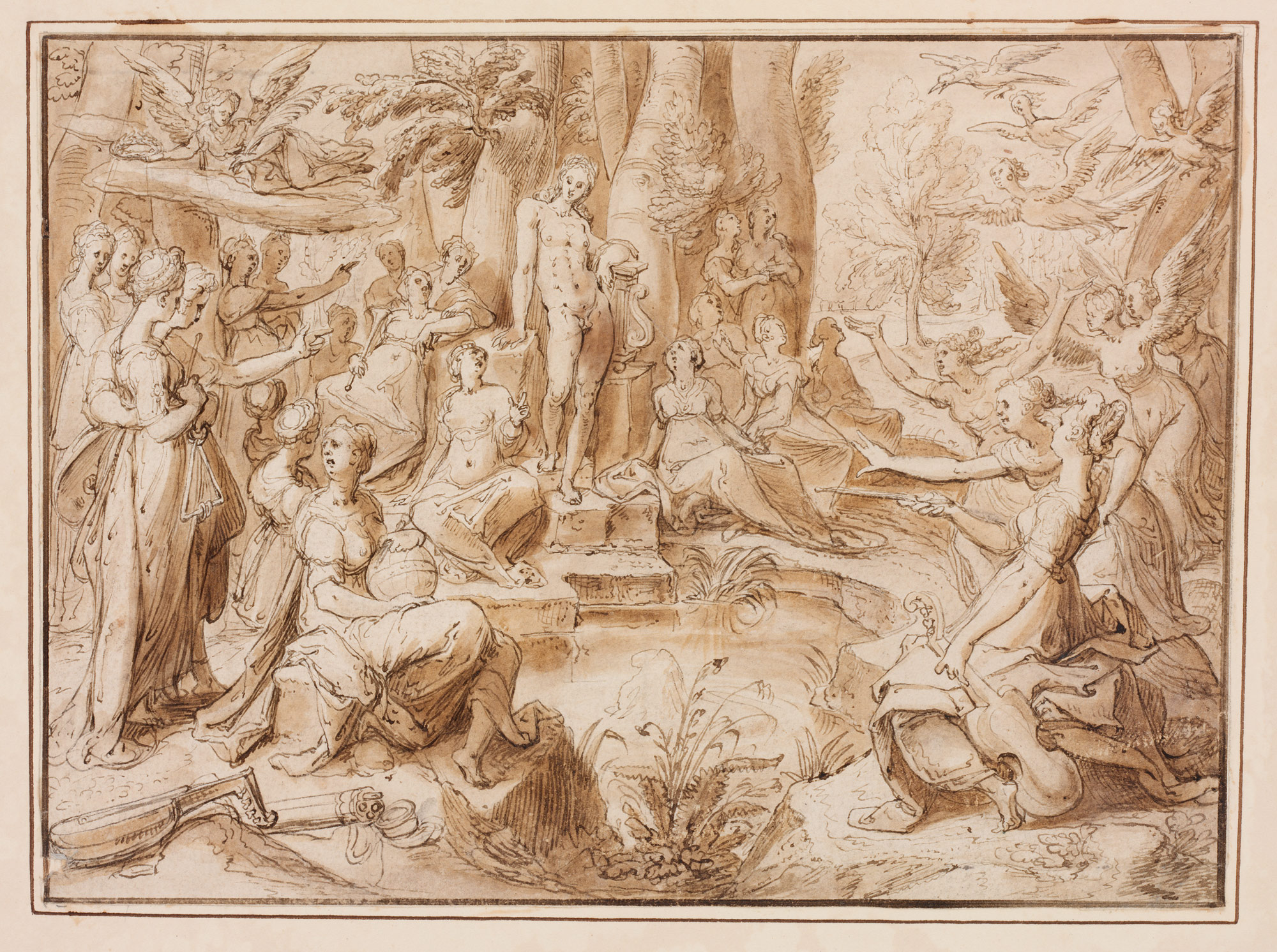 the challenge of the pierides from ovids metamorphosis book v 294 678 - Ovid Lebenslauf