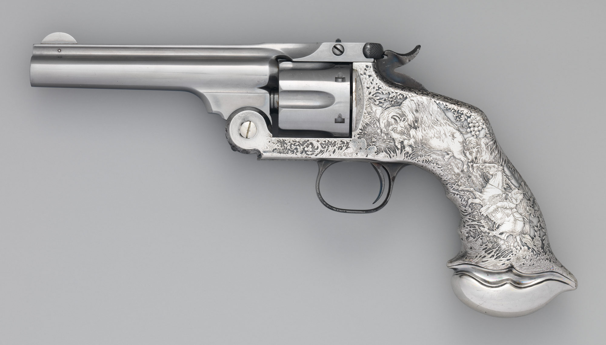 Smith and Wesson .44 New Model No. 3 Single-Action Revolver, serial no. 25120