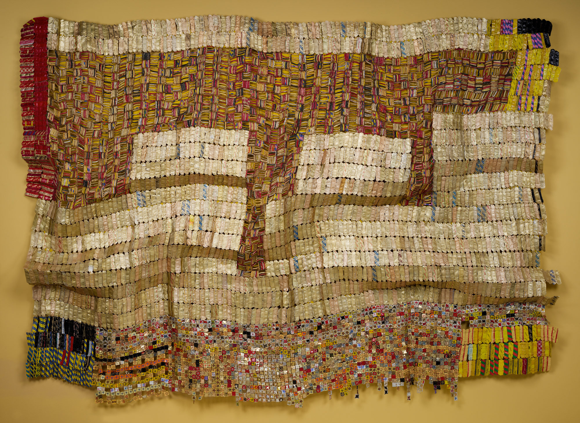 Between Earth And Heaven El Anatsui 2007 96 Work Of