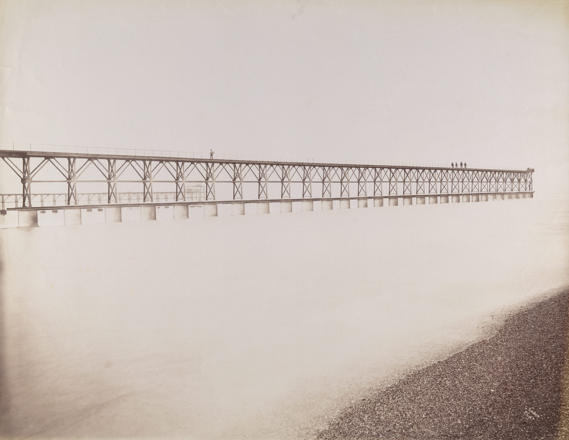 Tubular Jetty, Mouth of the Adour, Port of Bayonne