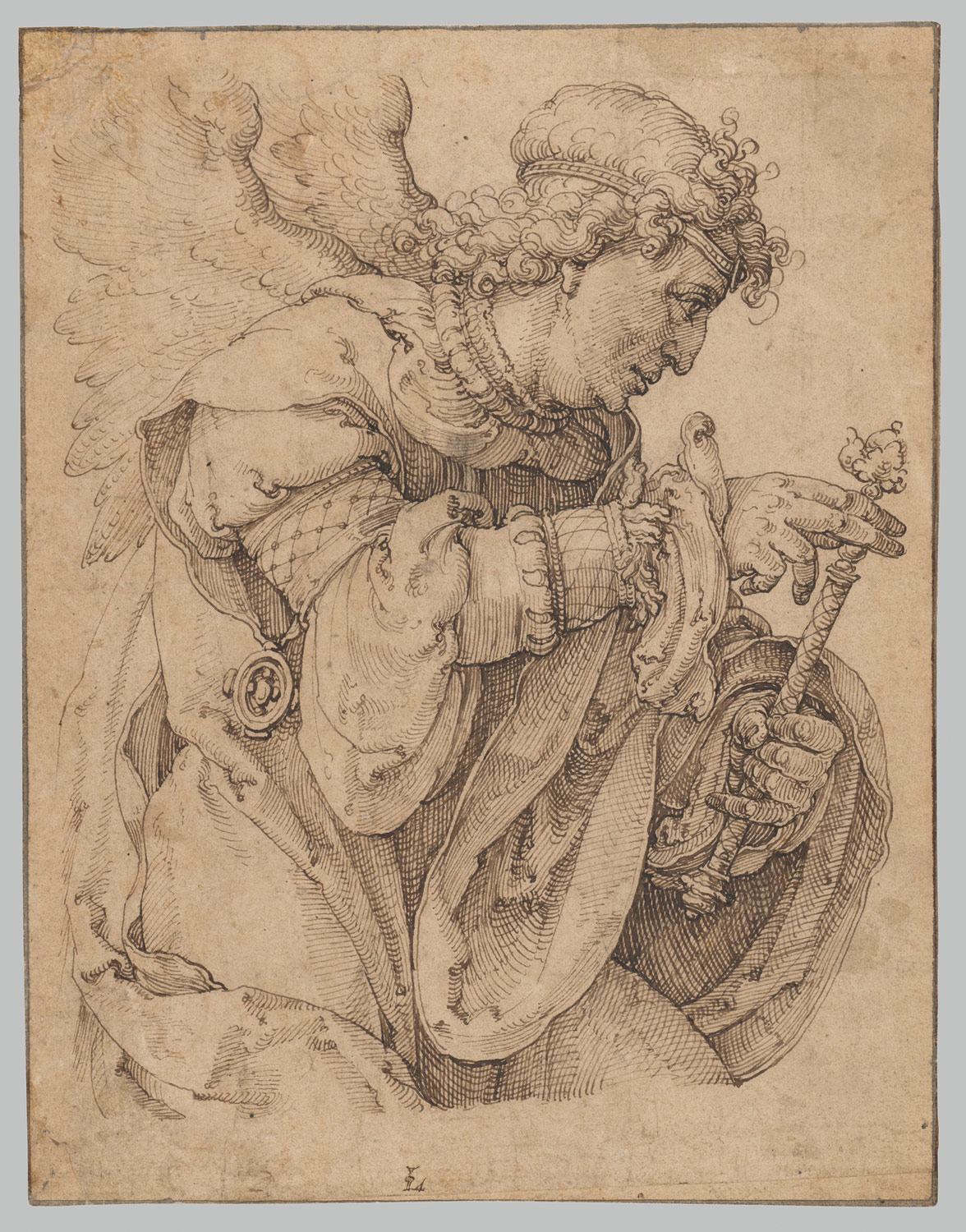 The Archangel Gabriel announcing the birth of Christ – Announcing a Birth