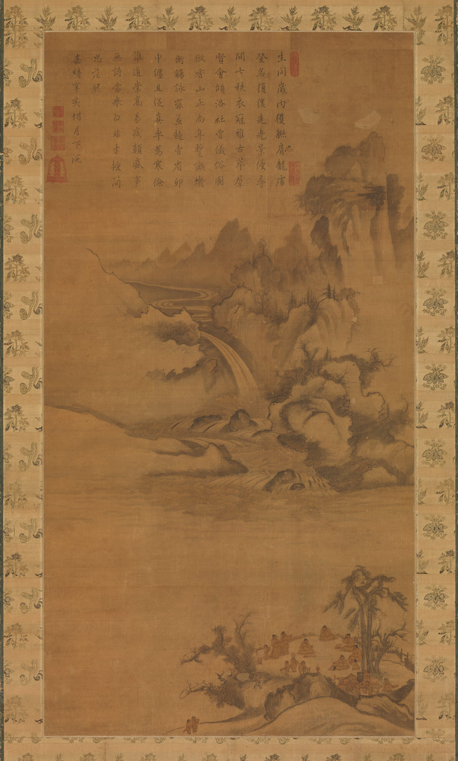 mountain and water korean landscape painting 1400 1800 essay gathering of government officials