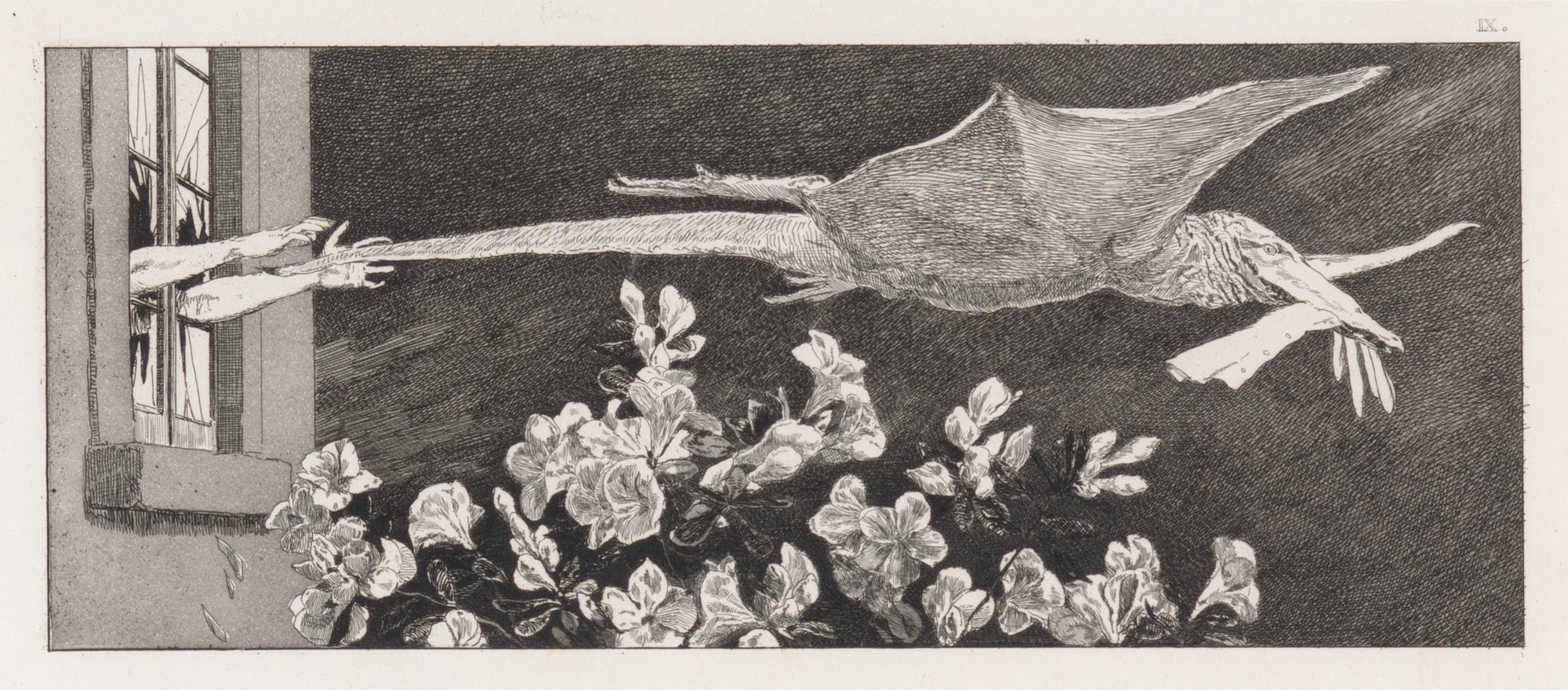 Abduction (plate nine from Paraphrase on the Finding of a Glove)