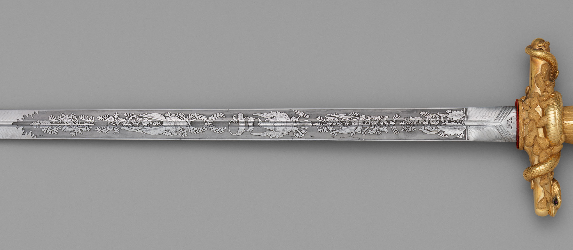 Congressional Presentation Sword and Scabbard of Major General John E. Wool (1784–1869)