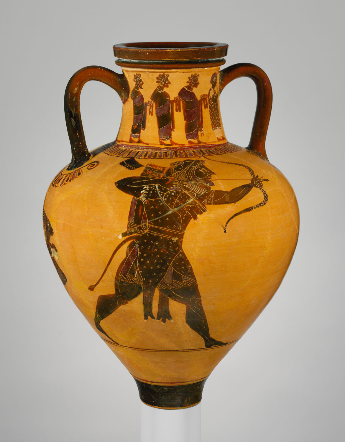 Athenian vase painting black and red figure techniques essay terracotta neck amphora jar reviewsmspy