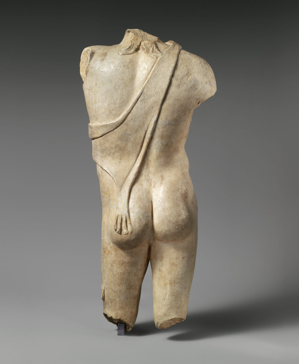 Marble statuette of young Dionysos