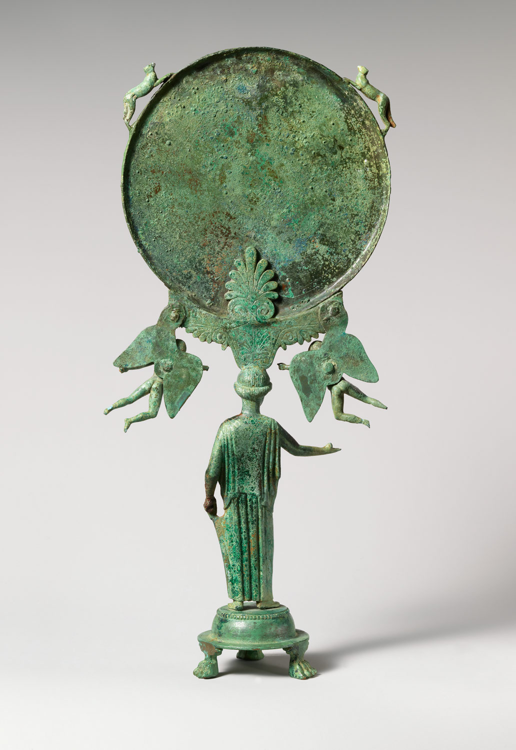 the art of classical ca b c essay heilbrunn bronze mirror a support in the form of a draped w