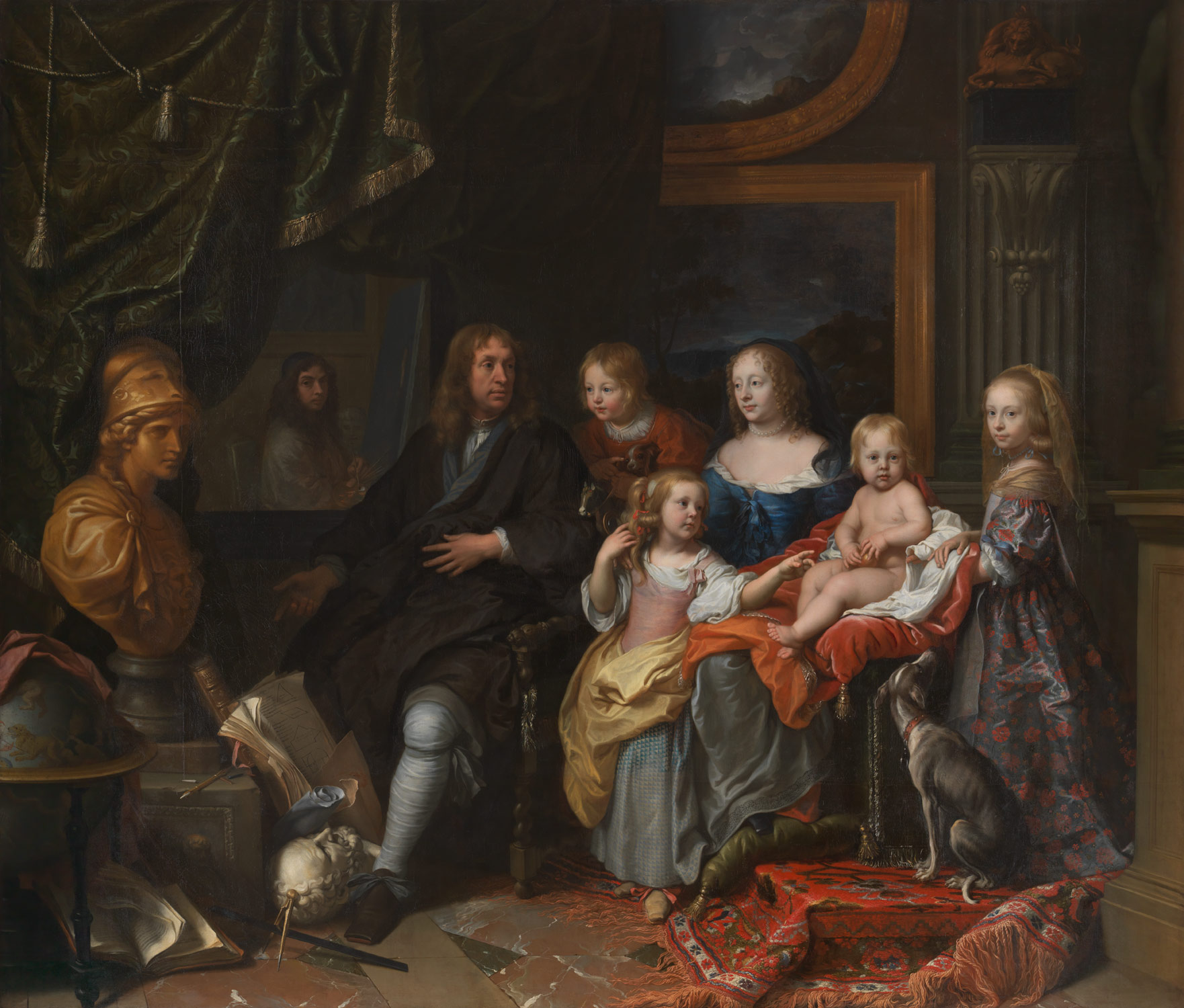 Captions; Everhard Jabach (1618–1695) and His Family ');