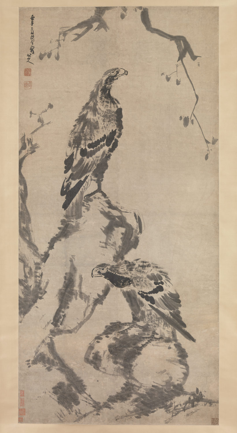 chinese painting essay heilbrunn timeline of art history the two eagles