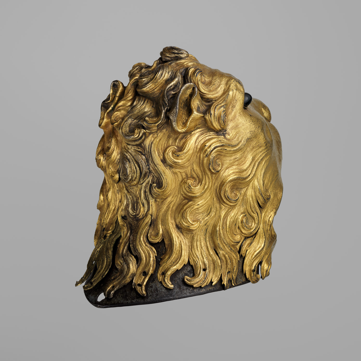 Sallet in the Shape of a Lions Head