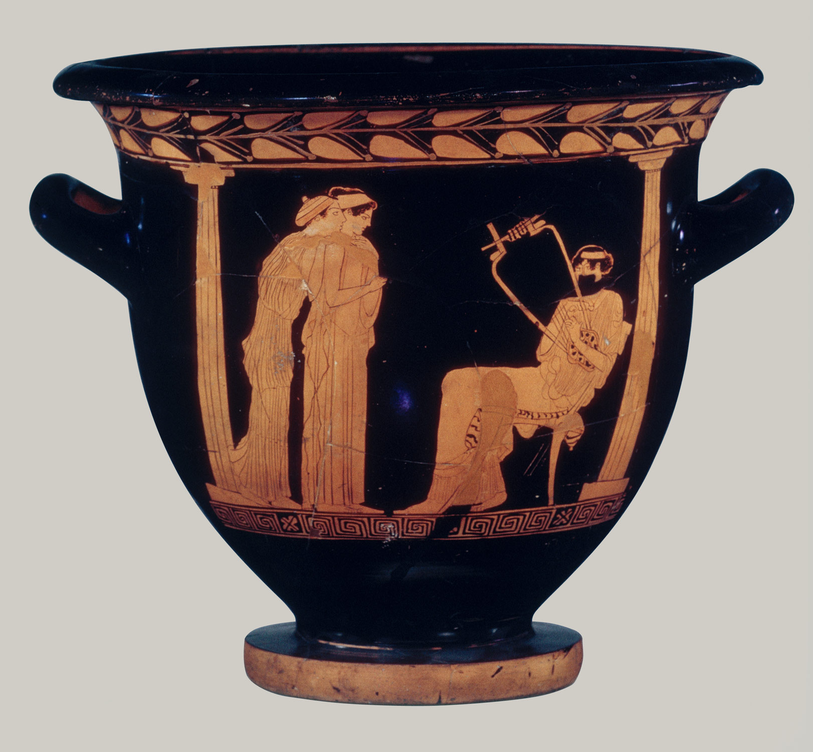 music in ancient essay heilbrunn timeline of art terracotta bell krater bowl for mixing wine and water