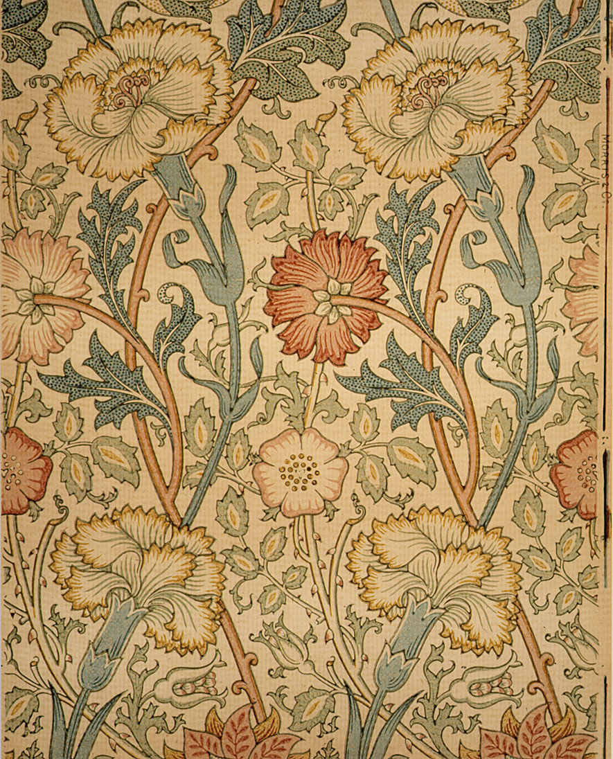 Pink And Rose William Morris 23 163 4a Work Of Art