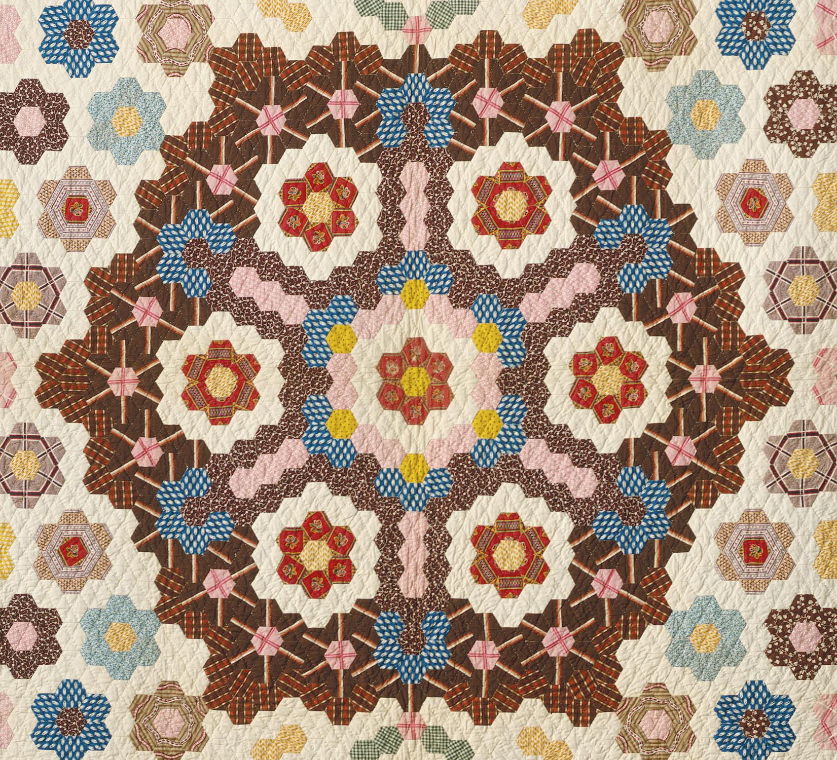 Honeycomb Quilt | Elizabeth Van Horne Clarkson | 23.80.75 | Work ... : quilting history timeline - Adamdwight.com