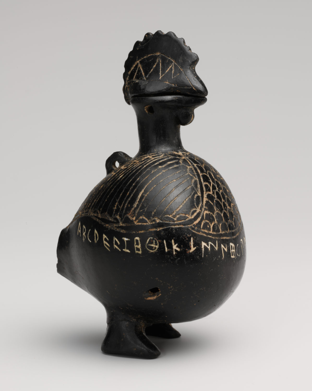Vase in the shape of a cock