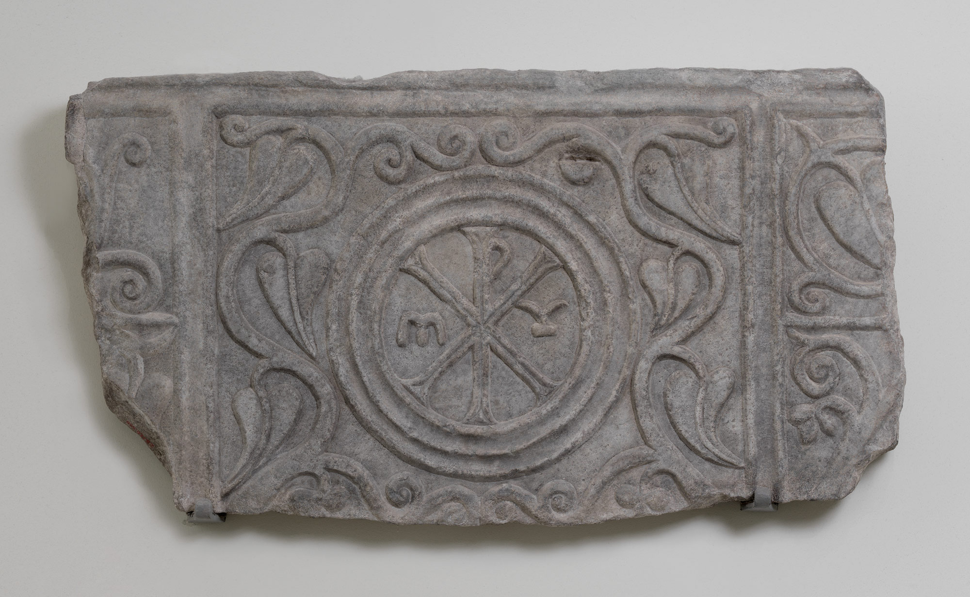 Fragment of a Marble Sarcophagus
