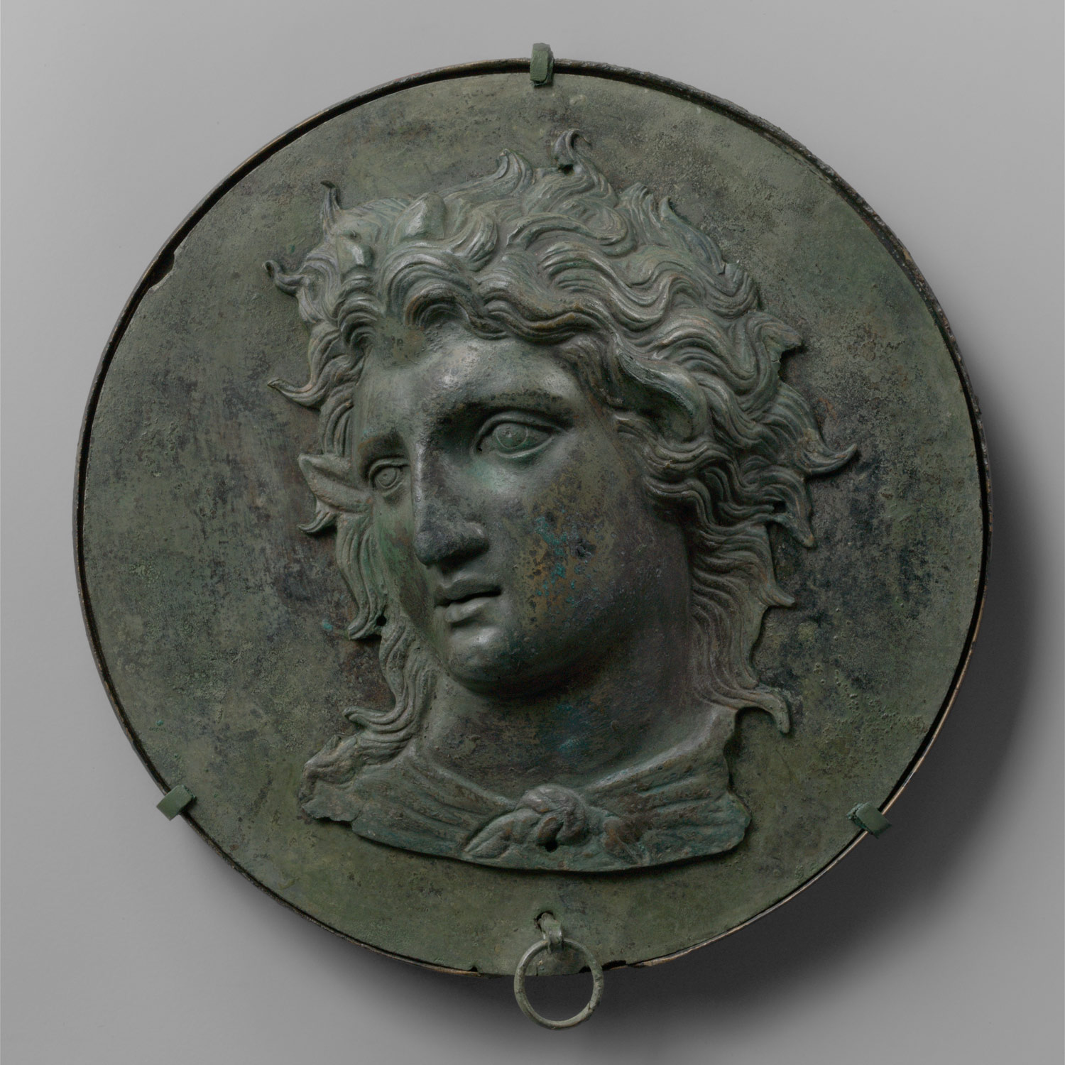 the rise of and the conquests of alexander the great bronze box mirror