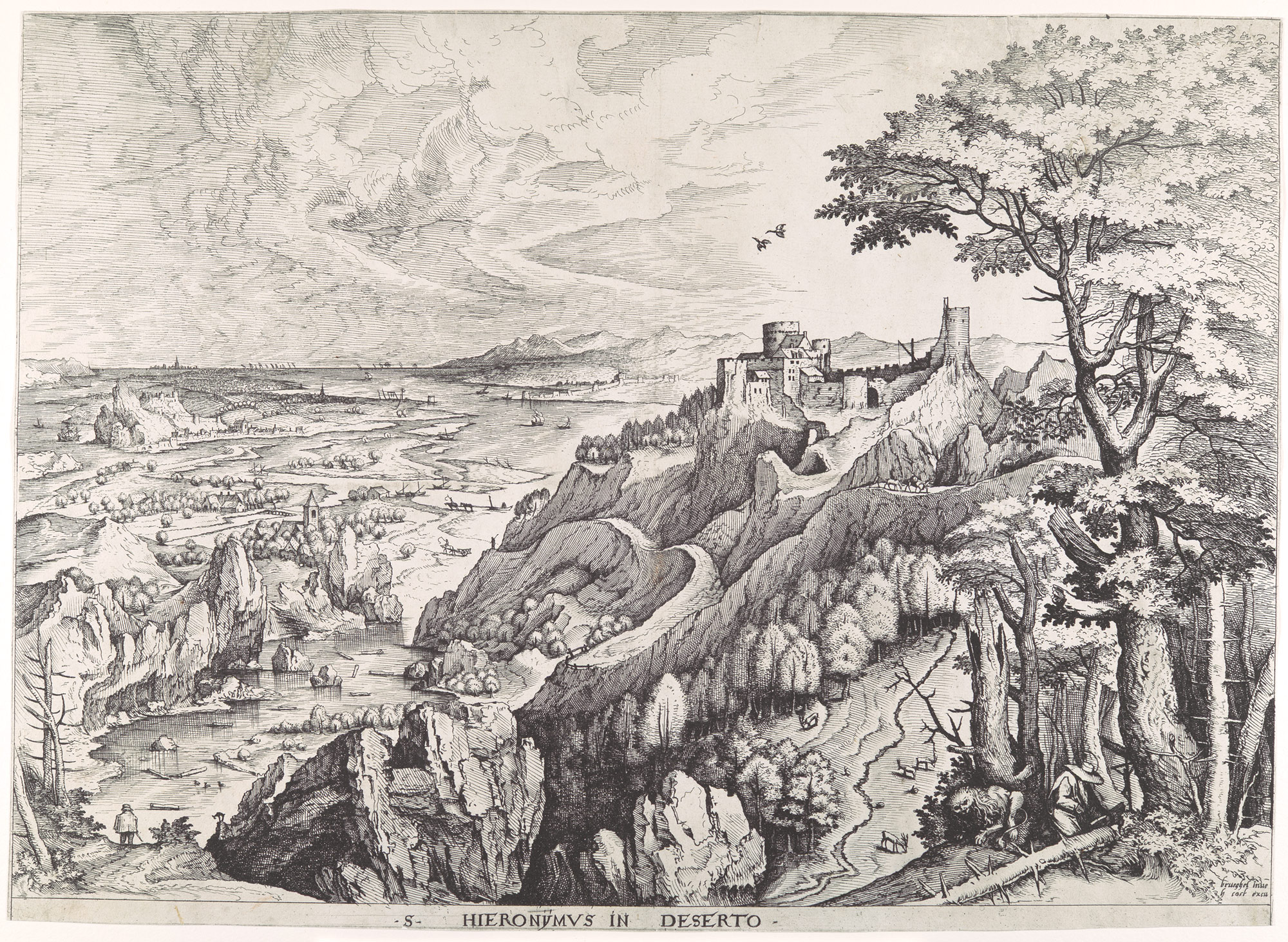 pieter bruegel the elder ca essay heilbrunn st jerome in the wilderness s hieronymus in deserto from the large