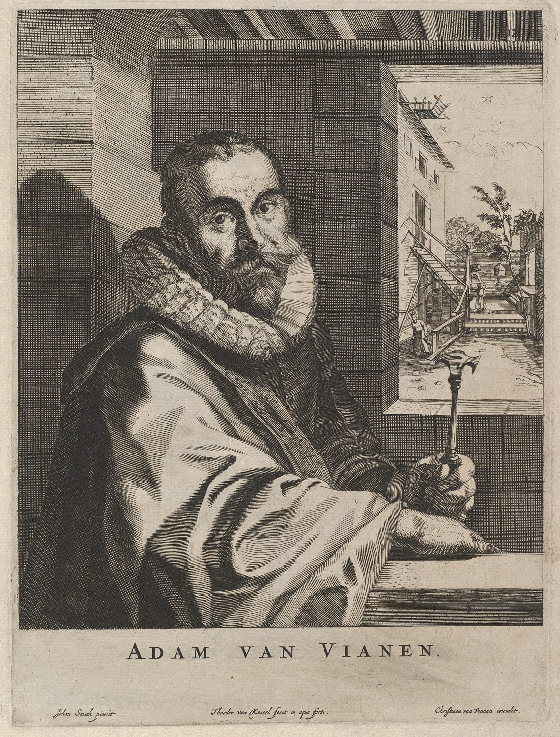 Modelli Artificiosi (...) Parte seconda (Plate 18: Portrait of Adam van Vianen)