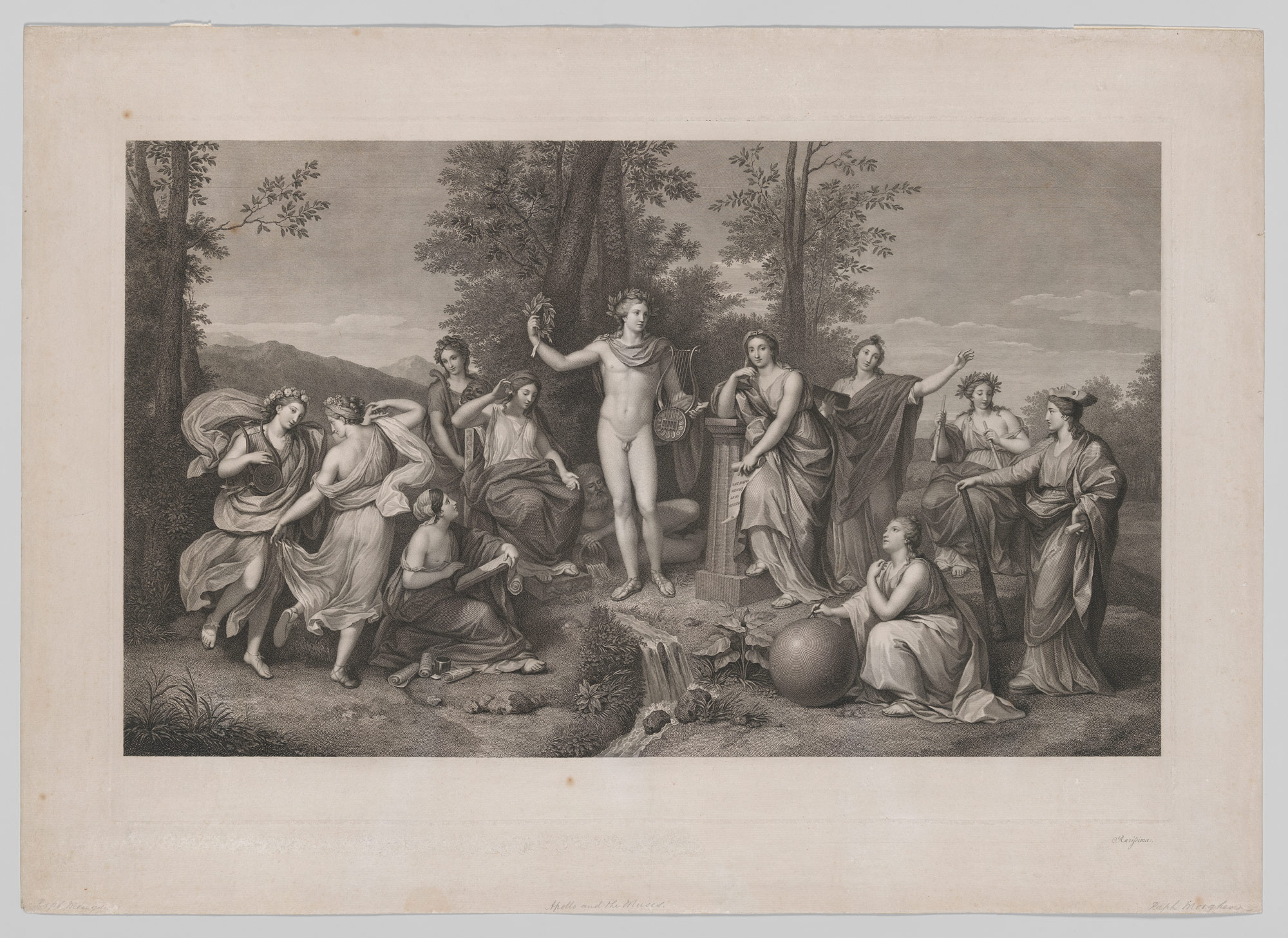 Apollo and the Muses on Parnassus