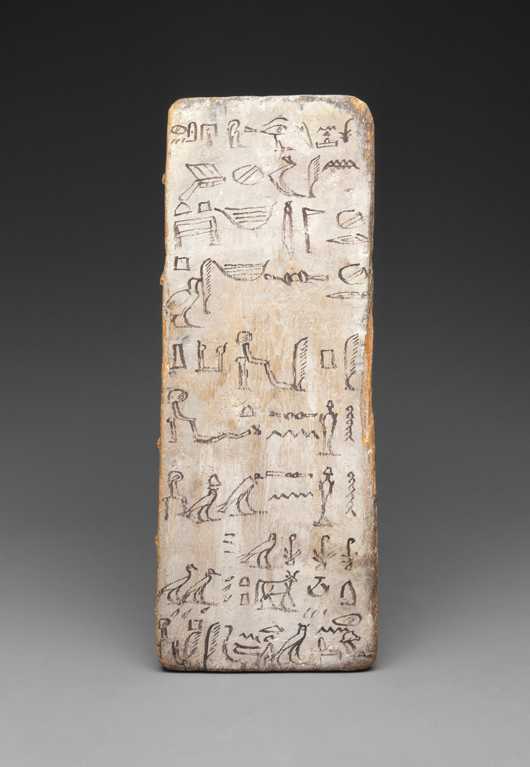 Writing board of an apprentice scribe