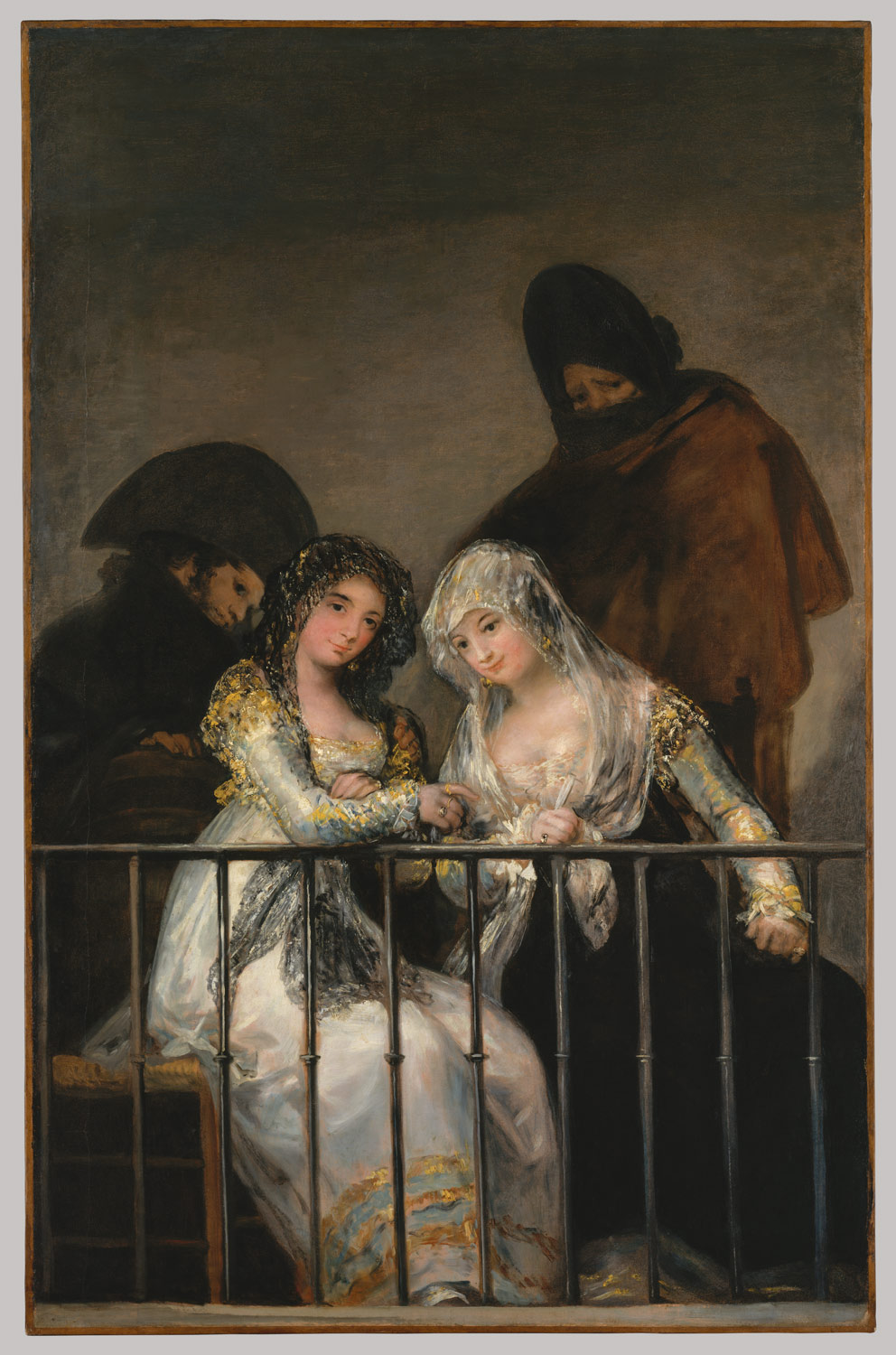 Paintings by Francisco Goya. Biography, the artist 45