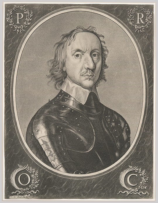 oliver cromwell jan van de velde iv after robert walker  oliver cromwell