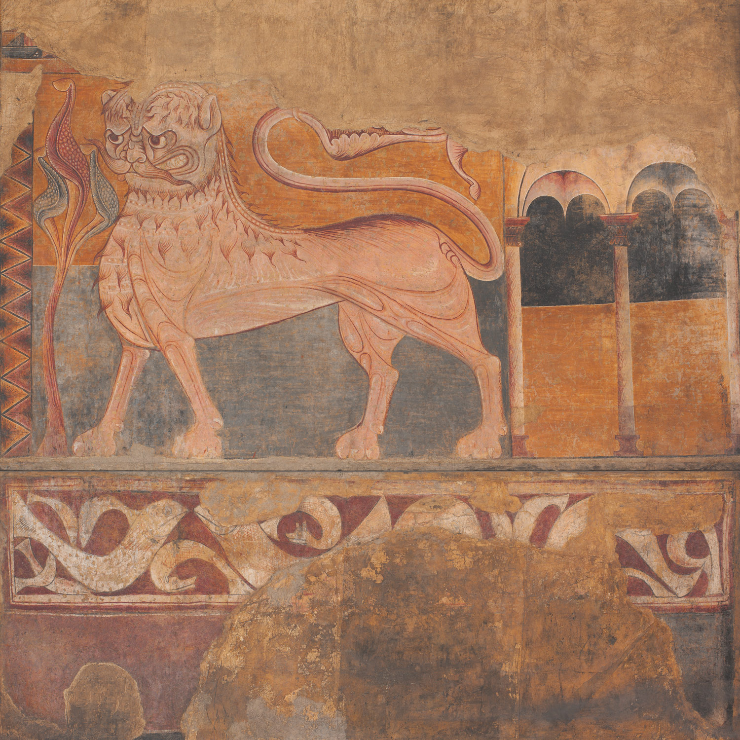 Lion from a Frieze