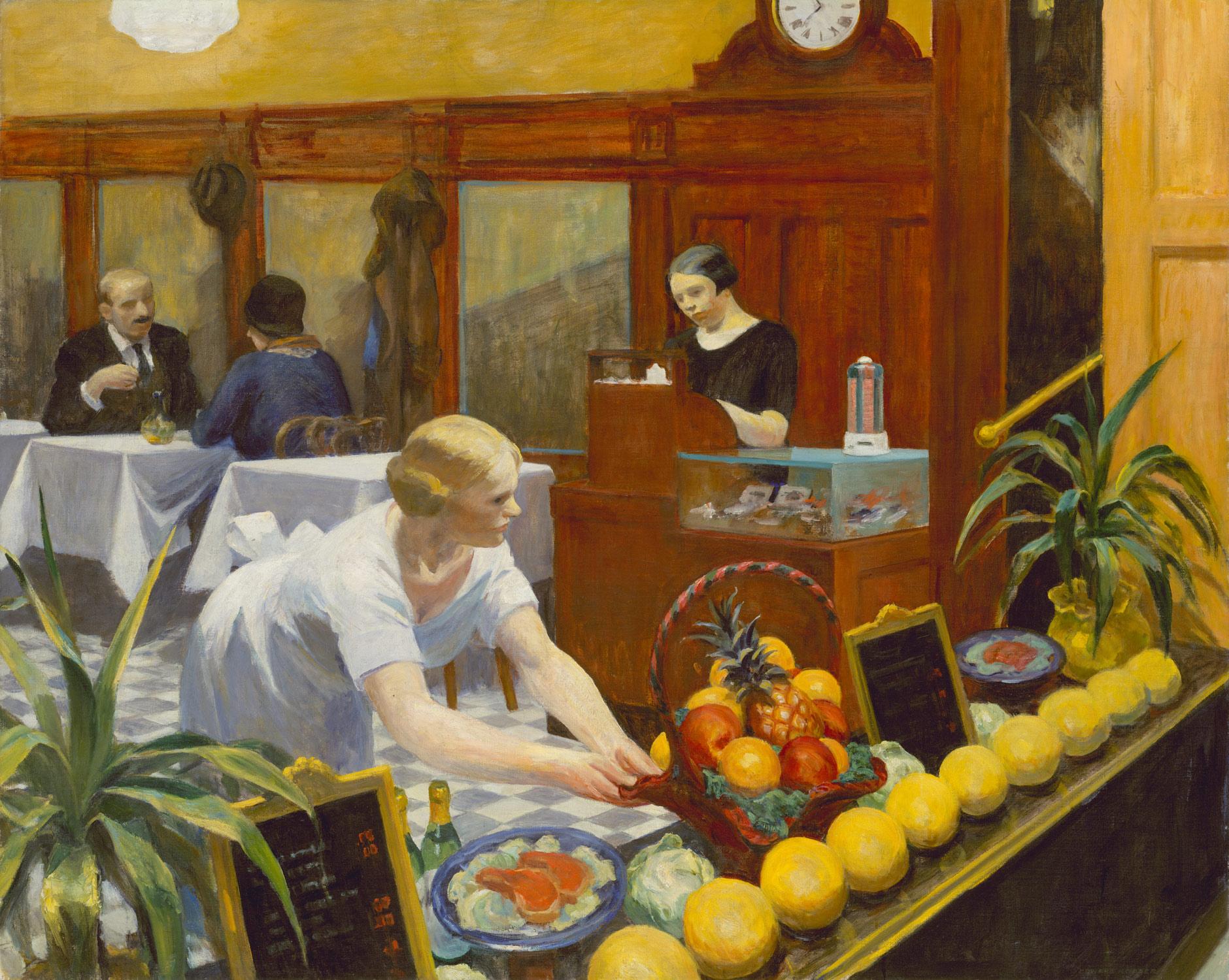 Tables for ladies edward hopper work of art - American history x dinner table scene ...