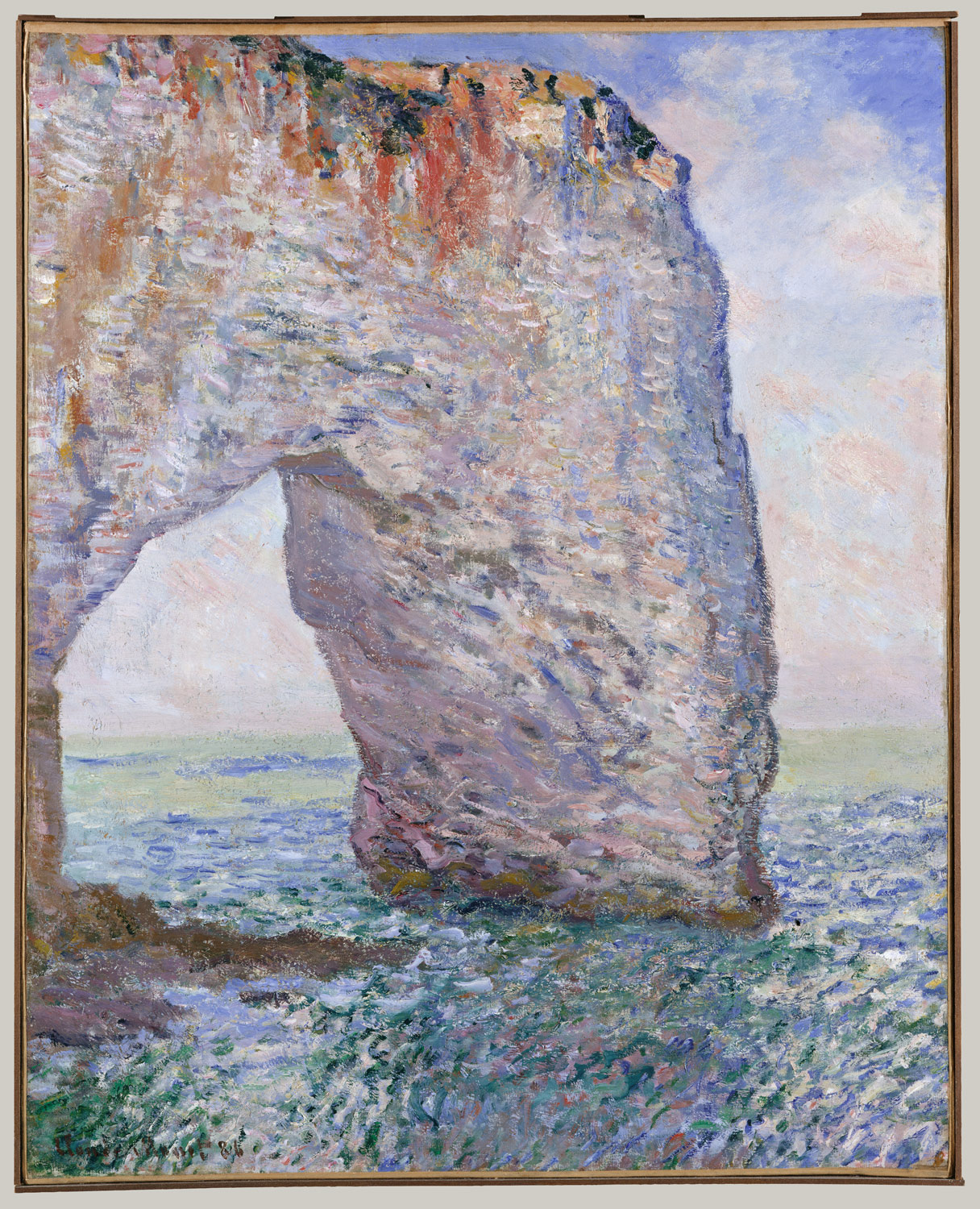 claude monet 1840 1926 essay heilbrunn timeline of art the manneporte near eacutetretat