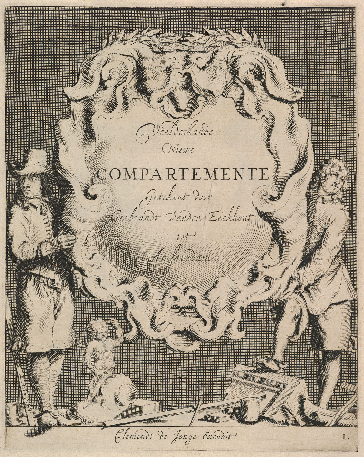 Veelderhande Niewe Compartimente (Titlepage in Dutch)