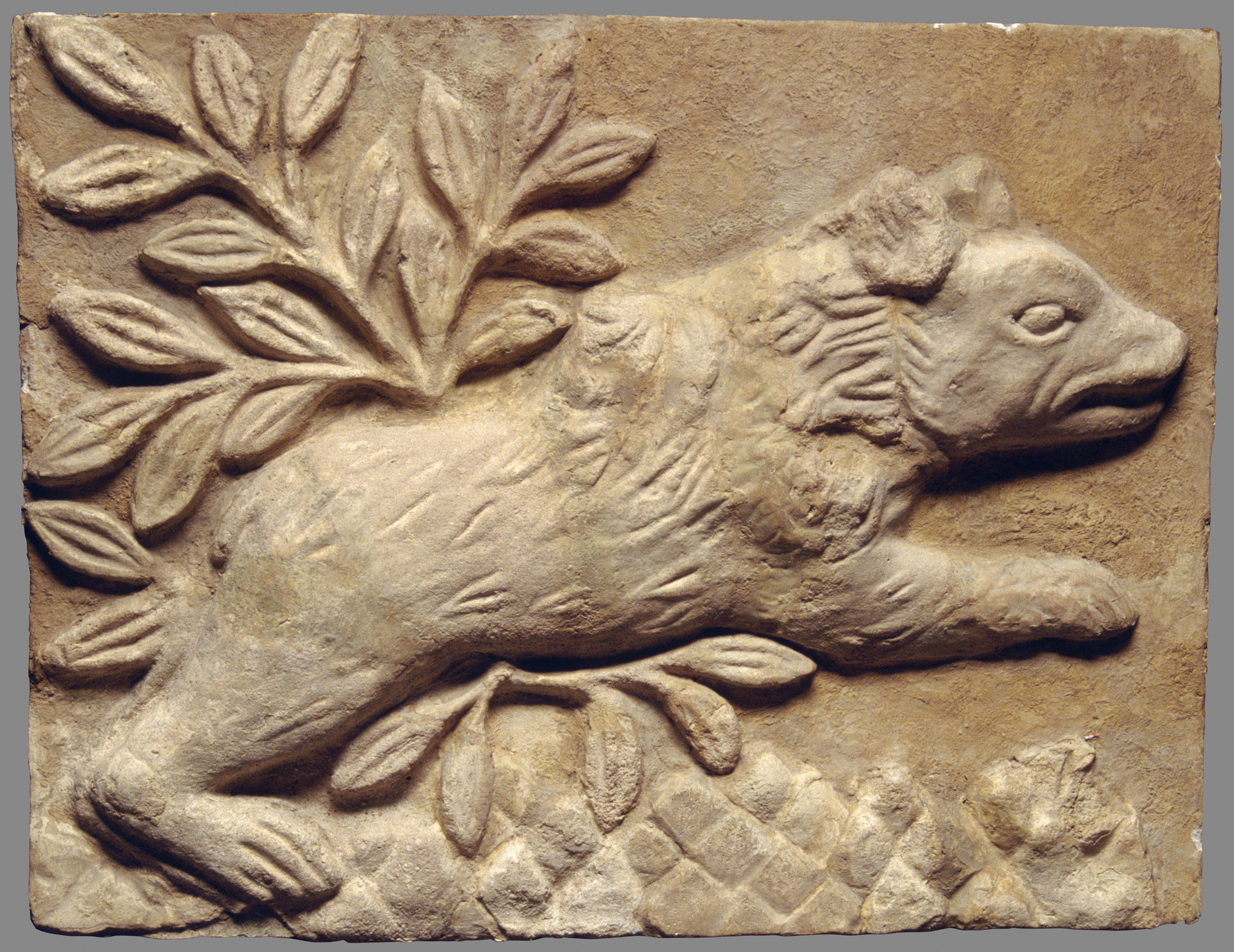 Wall panel with a charging bear