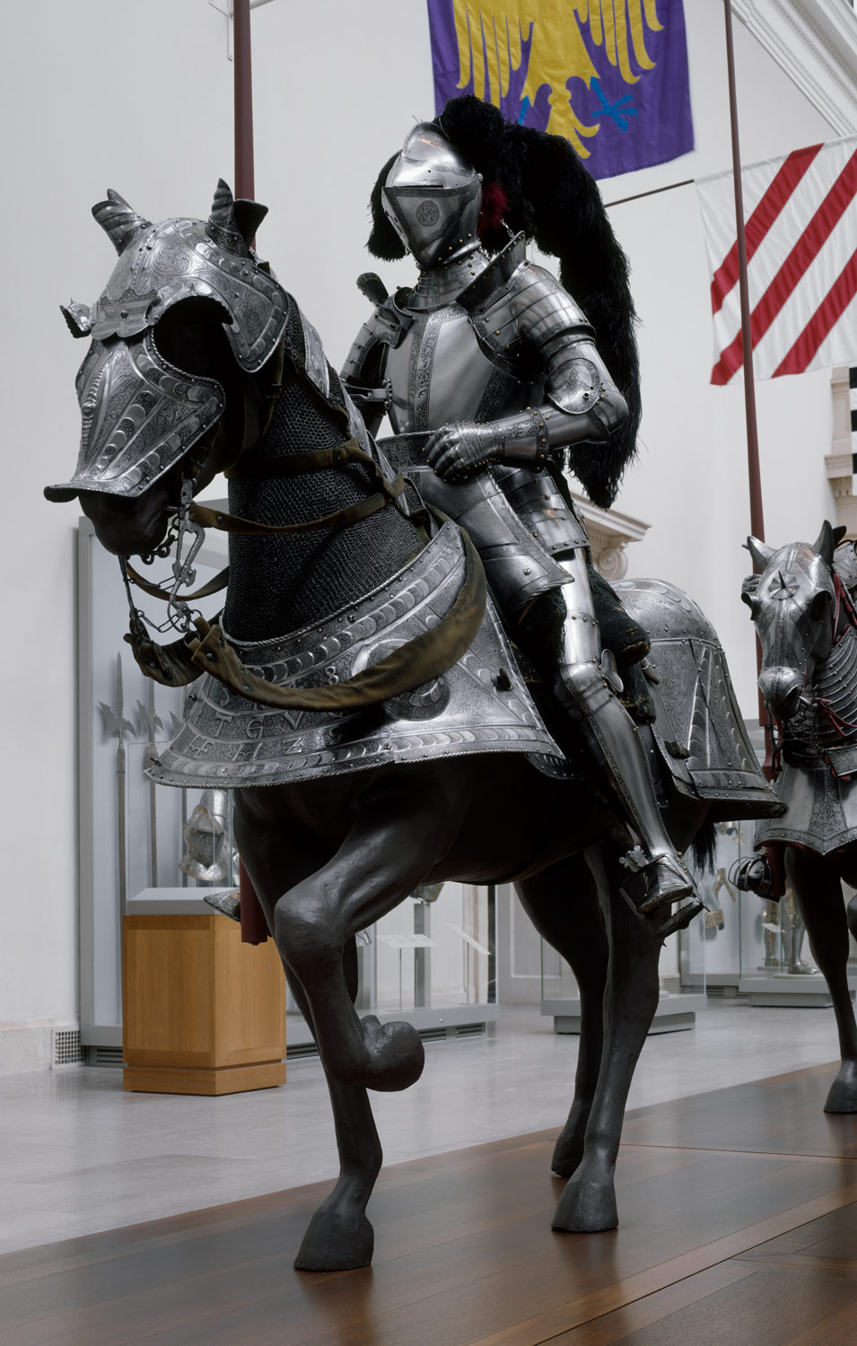 Horse Armor Made for Johann Ernst, Duke of Saxony-Coburg (1521–1553)