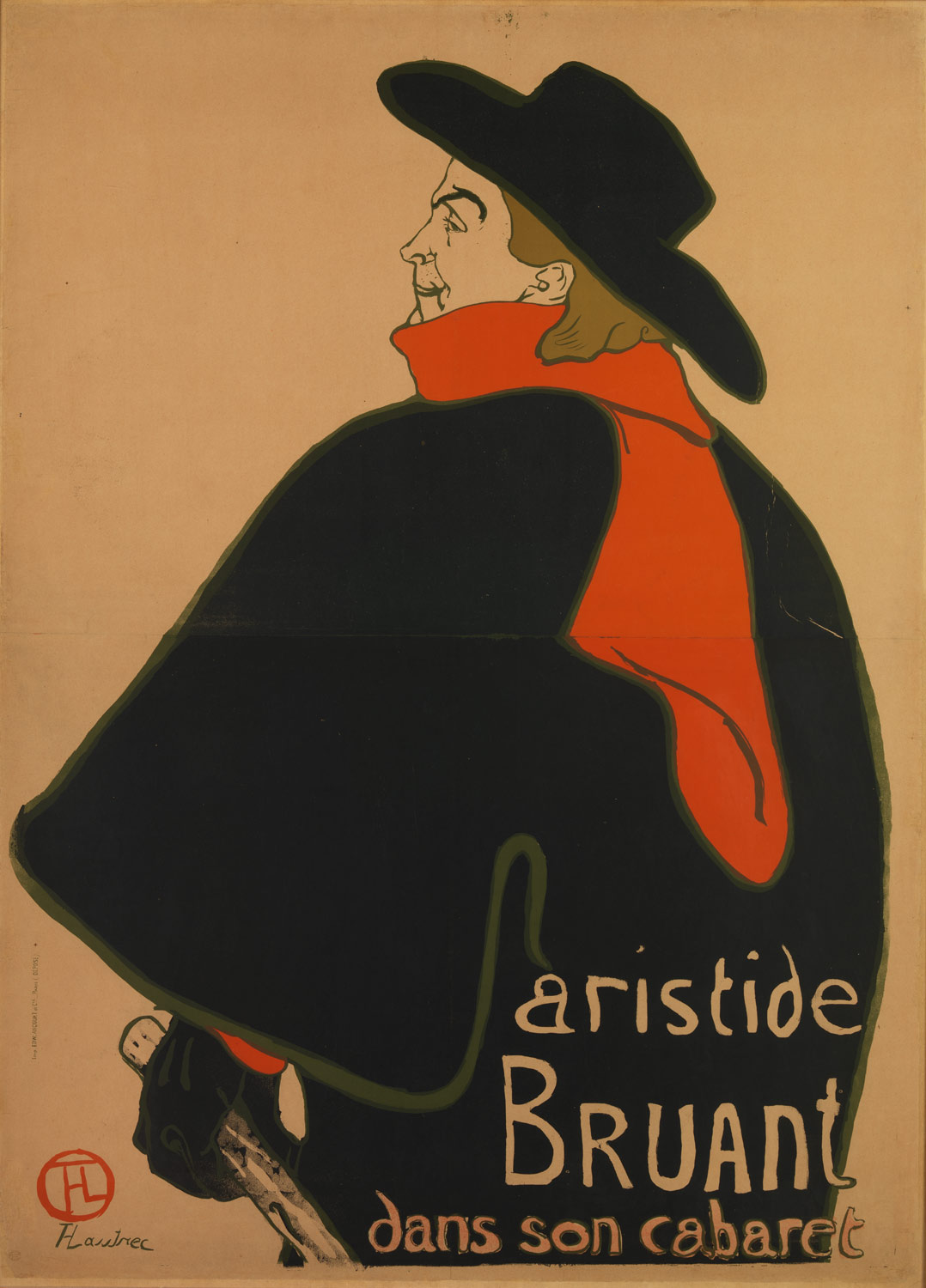 Aristide Bruant, at His Cabaret