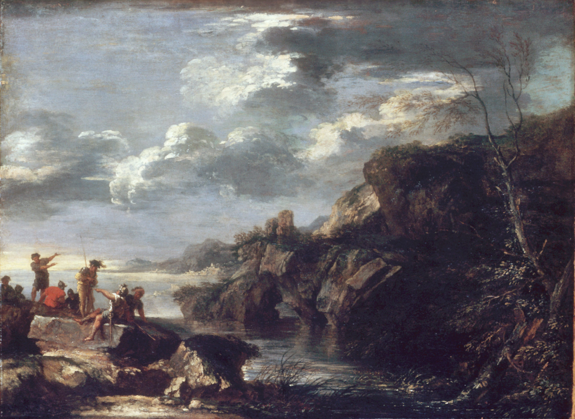 Bandits on a Rocky Coast