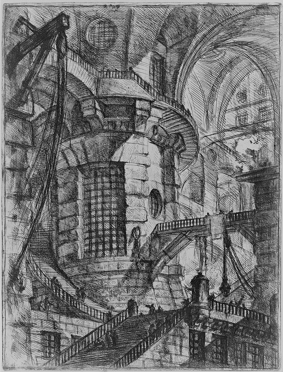 The Round Tower, from Carceri dinvenzione (Imaginary Prisons)