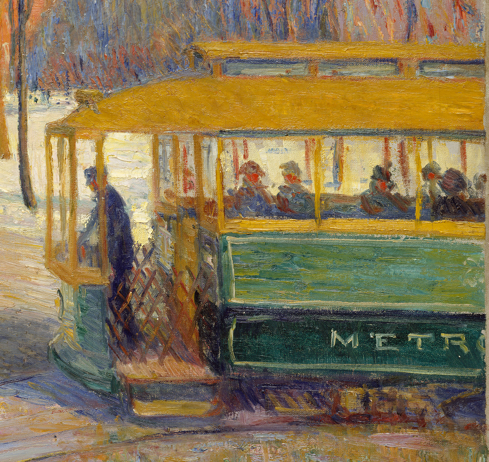 Car Paint Colors >> The Green Car | William James Glackens | 37.73 | Work of ...